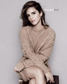 Exclusive cover ELLE spain October Emma Watson. Out in September 22