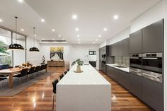 An Elegant Contemporary Home With Views of the Lerderderg State Park Ranges