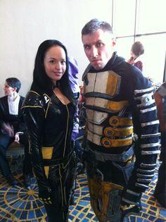 Miranda & Zaeed cosplay