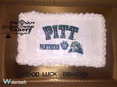 Pull apart Pitt cake