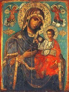 ОДИГИТРИЯ 1766 г. Кафедральный собор греческой православной церкви в Бейруте