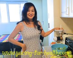 From Sara's Kitchen — Juicing For Health. Links to several good green and fruit/veg juice recipes