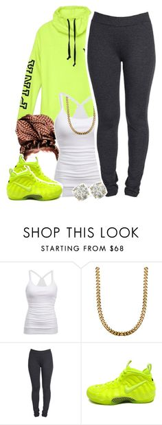 """""""Untitled #1316"""" by lulu-foreva ❤ liked on Polyvore featuring American Eagle Outfitters, NYDJ, NIKE and Auriya"""