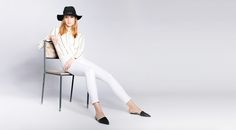 Industry Standard - The Shopkeepers Shop Around, White Jeans, Industrial, Sporty, Pants, Shops, Shopping, Design, Fashion