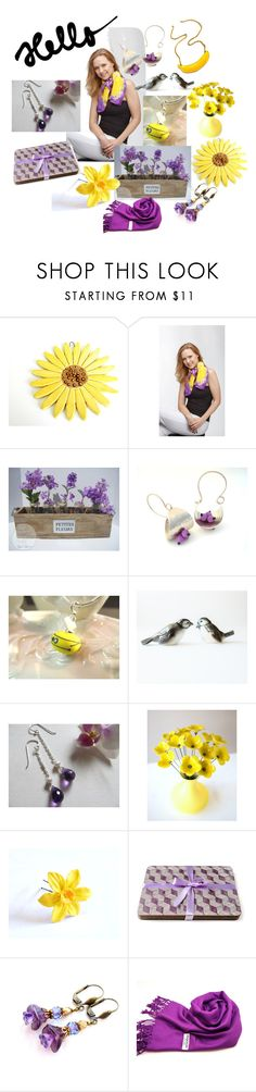 """""""Hello Beautiful"""" by inspiredbyten ❤ liked on Polyvore featuring Goebel and vintage"""