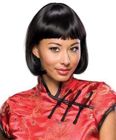 Black Gabrielle Wig New Adult Female Rubies Quality Cosplay Model Costume Hair Net Cap | eBay $34.99