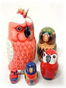 This would go nicely with my Russian matryoshka dolls that Madison got for me! :) (early hint for next Christmas!)