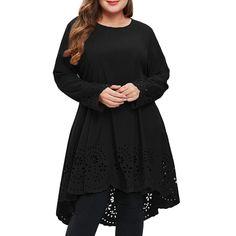 e512ae1a511 4Clovers Women s Cold Shoulder Plus Size Casual High-Low Hem Floral Maxi  Dress Plus Size