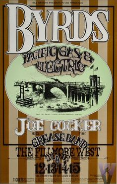 Byrds  Pacific Gas & Electric  Joe Cocker & His Grease Band    6/12-15/1969	Randy Tuten