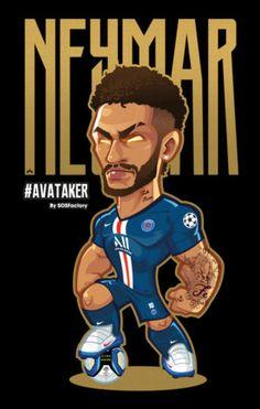 Cute Football Players, Football Player Drawing, Soccer Players, Psg, Ronaldo Juventus, Neymar Jr, Football Fever, Ufc Fighters, Soccer Poster
