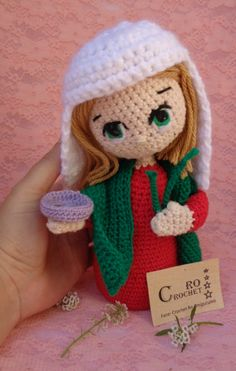 Colección Fe Santa Lucia, Crochet Hats, Crochet Ideas, Religion, Madonna, Embroidery, Friends, Lace, Free Crochet