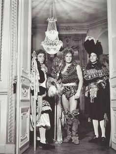 Boris Lipnitzki- Jean Marais at a ball at the home of le comte Etienne de Beaumont, 1939