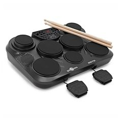 Shop for Portable Electronic Drum Pads By Starting from Choose from the 3 best options & compare live & historic percussion instrument prices. Drum Lessons, Lessons Learned, Electronic Drum Pad, Drum Drawing, Drums Artwork, Instruments, Best 3d Printer, Frame Stand, Drum Kits