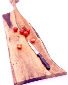 tagliere in legno di quercia artigianale fatto a mano