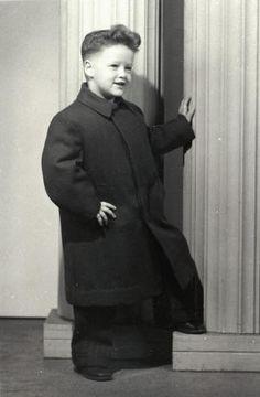 1950 – Dört yaşındaki Bill Clinton.