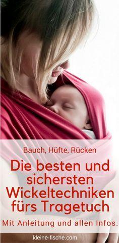 Babytragetuch binden