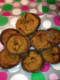 Coconut Flour Pumpkin Muffins | allergyatlas Sub coconut oil for vegetable oil and its paleo