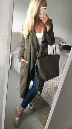 Military Jacket, Tote Bag, Jackets, Bags, Style, Closet, Fashion, Down Jackets, Handbags