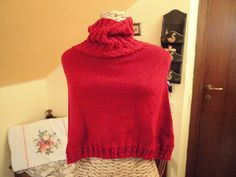 Little red riding capelet by Stefily on Etsy