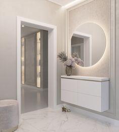 Home Room Design, Bathroom Interior Design, Living Room Designs, House Design, Home Decor Hooks, Home Entrance Decor, Flur Design, Living Room Decor Inspiration, Elegant Living Room