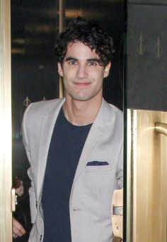 Darren Criss at NBC Studios in New York City for an appearance on 'The Today Show.'
