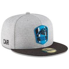 5bf204fbd New Era Boys  Carolina Panthers Official Sideline Road Fitted Cap Men -  Sports Fan Shop By Lids - Macy s