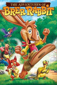 Parents & kids alike will delight in the escapades of the most mischievous & clever Brer rabbit as he gleefully outwits Brer Bear, Brer fox & others! The Adventures of Brer Rabbit [New DVD] Digital, Dolby, Subtitled, Widescreen. Rabbit Tale, Rabbit Book, Rabbit Gif, Rabbit Video, Rabbit Watch, Netflix Movies, Movie Tv, Kids Adventure Movies, Animated Cartoon Movies