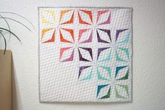 SCHNIG SCHNAG - Quilts and more, modern wall hanger