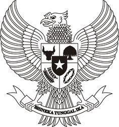Burung Garuda Indonesia - khas indonesia dengan pancasilanya #PINdonesia