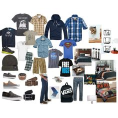 teenage wardrobe essentials boys - Google Search
