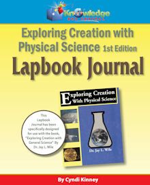 Apologia Exploring Creation w/ Physical Science Ed Lapbook Journal - CD Apologia Physical Science, Journal Format, Physics High School, Homeschool High School, Homeschooling, Science Curriculum, Vocabulary Words, Teacher Newsletter, Booklet