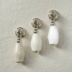 Pushka Ceramic Drop Pull Cuboard Door Knobs For Chest Of Drawers