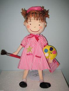 Madame Alexander Pinkalicious Purplicious Cloth Doll