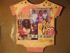 Kaiah Baby Book - Scrapbook.com Scrapbook Sketches, Scrapbook Pages, Baby Photo Books, Birthday Scrapbook, Finding Joy, Baby Photos, Layout, Law, Brother