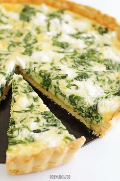Vegetarian Recipes, Healthy Recipes, Spanakopita, Superfoods, Macarons, Quiche, Cupcake Cakes, Food And Drink, Dinner