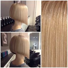 """<3 I so love this look and the saying, """"the softer the blonde the sharper the cut"""". Yummy in deed! <3"""