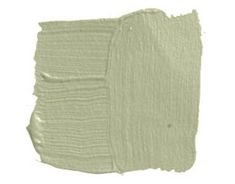 "Mesquite    BENJAMIN MOORE MESQUITE 501: ""Mesquite is a flattering light moss green without much yellow. I love it because it doesn't shout 'I'm green!' It says, 'I'm a very beautiful color.'"" -Jennifer Garrigues"