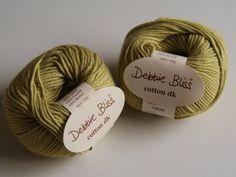 Debbie Bliss Cotton DK Yarn Avocado knitting by HomeBakedOnline, £3.20