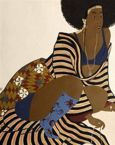 Iona Rozeal Brown - An unprecedented mixture of anonymous courtesans, geisha and other Japanese subjects. Beauty In Art, Brown Art, Portrait Art, Portraits, African Culture, Great Women, Visual Kei, Gothic Lolita, Black Art