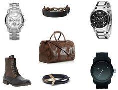Sparkling details for men! #menstyle #accessory #bag #watches #bracelets on shopstyle.co.uk