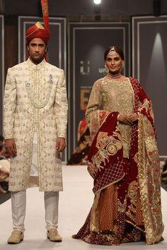 Show details for Designer Bridal Lehenga, Bridal Lehenga Choli, Pakistani Bridal, Designer Gowns, Stylish Gown, Pakistan Street Style, Net Gowns, Velvet Shawl, Bollywood Lehenga