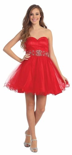 Semi Formal Red Dress