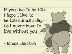 Winnie the Pooh - used this in my wedding programs :)