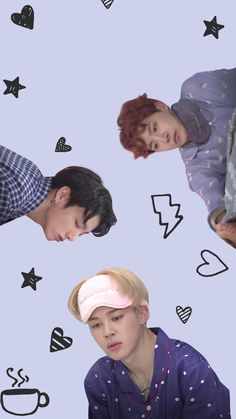 Sleepy Bangtan wallpaper lockscreen k-pop BTS