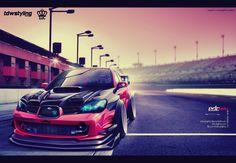 Subaru Impreza WRX Peach-edcgraphic by edcgraphic on DeviantArt