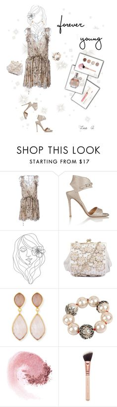 """""""Ingenue"""" by labond ❤ liked on Polyvore featuring Chloé, Gianvito Rossi, PBteen, Dina Mackney, Betsey Johnson, NARS Cosmetics and Terre Mère"""