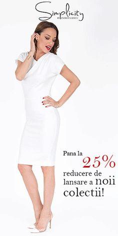 www.shop.andreearaicu.ro Dresses For Work, Chic, Shopping, Fashion, Shabby Chic, Moda, Elegant, Fashion Styles, Fashion Illustrations