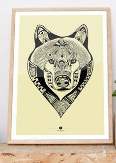 print & pattern: WALL ART -- tarik arnautovic