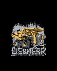 The Biggest Truck In The World #truck #komatsu #liebherr #mining #coal #redbubble #operator #construction #monstertruck #heavyequipment #4x4 #mechanic