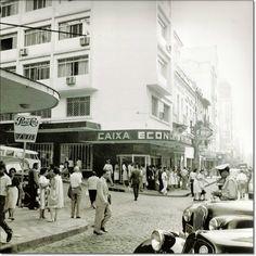 Rua dos Andradas esq. Dr. Flores 1961.